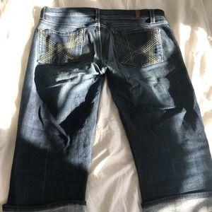 GUC 7 of all Mankind Jean capris size 30